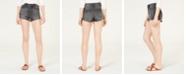 Celebrity Pink Juniors' High-Rise Mom Denim Shorts