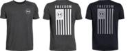 Under Armour Big Boys Freedom Flag T-Shirt