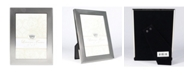 "Lawrence Frames Fawn Pin Dot Pattern Silver Metal Picture Frame - 5"" x 7"""