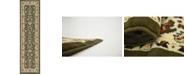 """Bridgeport Home Arnav Arn1 Green 2' 7"""" x 10' Runner Area Rug"""
