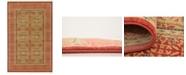 Bridgeport Home Wilder Wld6 Red 5' x 8' Area Rug