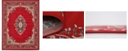 "Bridgeport Home Birsu Bir1 Red 9' 10"" x 13' Area Rug"