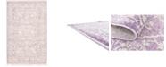 Bridgeport Home Norston Nor1 Purple 4' x 6' Area Rug