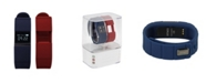 iTouch iFitness Activity Tracker with Navy Strap and Bonus Red Strap