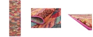 "Bridgeport Home CLOSEOUT! Arcata Arc4 Multi 2' 2"" x 6' 7"" Runner Area Rug"