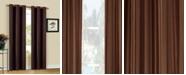 "Duck River Textile Herringbone 30"" x 84"" Printed Curtain Set"