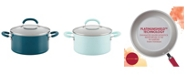 Rachael Ray Create Delicious Aluminum Nonstick 6-Qt. Stockpot