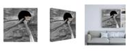 "Trademark Global Brooke T. Ryan Red Panda Sleeping Canvas Art - 19.5"" x 26"""