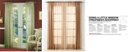 """Miller Curtains CLOSEOUT! Sheer Striped Aria 51"""" x 84"""" Panel"""