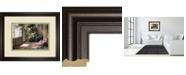 """Classy Art Atriums First Light Il by Hali Framed Print Wall Art - 34"""" x 40"""""""