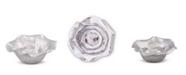 Arthur Court Carmel Pattern Aluminum Dip, Candy, Snack, Serving Bowl - Carmel Pattern Modern Free Form