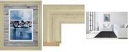 "Classy Art Docked by Fitsimmons A. Framed Print Wall Art, 34"" x 40"""