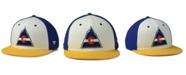 Authentic NHL Headwear Colorado Rockies Tri-Color Throwback Snapback Cap