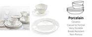 Hotel Collection Classic Baroque 12-Pc. Dinnerware Set, Service for 4, Created for Macy's