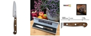 "Carl Schmidt Sohn TESSIN German 3.5"" Paring Knife with Walnut Handle"