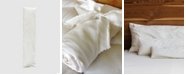 Holy Lamb Organics Natural Wool-Filled Body Pillow with Organic Cotton Sateen Case, Mini, Buddy Size