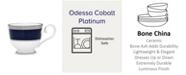 Noritake Odessa Cobalt Platinum Cup, 7.75 Oz.