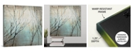 """GreatBigCanvas 16 in. x 16 in. """"Winter Song"""" by  Kari Taylor Canvas Wall Art"""