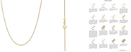 """Italian Gold Wheat Link 20"""" Chain Necklace in 14k Gold"""