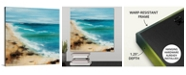 "GreatBigCanvas 16 in. x 16 in. ""Coastal Breeze"" by Sydney Edmunds Canvas Wall Art"