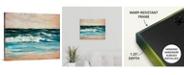 """GreatBigCanvas 20 in. x 16 in. """"Ocean Light II"""" by  Sydney Edmunds Canvas Wall Art"""