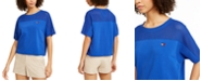Tommy Hilfiger Mesh-Yoke T-Shirt