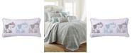 """Levtex Gramercy 12"""" x 24"""" Elephants Decorative Pillow"""