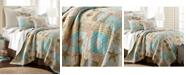 Levtex Bridgetown Coastal Print Reversible Twin Quilt Set