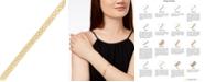 Macy's Bismark Chain Bracelet in 10k Gold