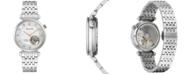 Bulova Women's Automatic Classic Regatta Diamond-Accent Stainless Steel Bracelet Watch 32.2mm