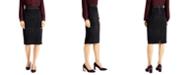 Alfani Animal-Print Pencil Skirt, Created for Macy's