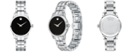 Movado Women's Swiss Stainless Steel Bracelet Watch 28mm