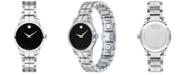 Movado Women's Swiss Stainless Steel Bracelet Watch 28mm