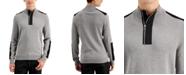 INC International Concepts INC Men's Lock Half-Zip Sweater, Created for Macy's
