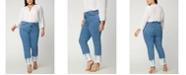 NYDJ Plus Size Sheri Slim Ankle Jeans