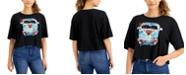 Self Esteem Juniors' Cotton Cropped Retro-Graphic T-Shirt