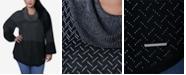 Adrienne Vittadini Women's Plus Size Round Hem Pullover Sweater