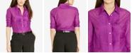 Lauren Ralph Lauren Pintucked Shirt