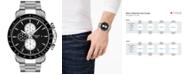Tissot Men's Swiss Automatic Chronograph T-Sport V8 Stainless Steel Bracelet Watch 45mm