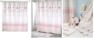 "Avanti Coronado 72"" x 72"" Graphic-Print Appliqué Shower Curtain"