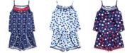 Epic Threads Little Girls Ruffle-Trim Tank Top & Pom Pom-Trim Shorts, Created for Macy's