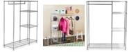 Safavieh Betsy Chrome Wire Adjustable Garment Rack