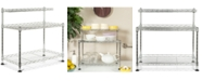 Safavieh Marcel Chrome Wire Mini Rack