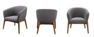 Moe's Home Collection Kismet Tub Chair Gray