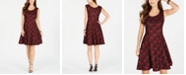 INC International Concepts INC Sequined Lace Fit & Flare Dress, Created for Macy's