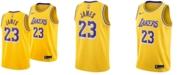 Nike Men's LeBron James Los Angeles Lakers Icon Swingman Jersey