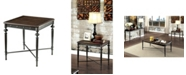 Furniture of America Glynis Industrial End Table