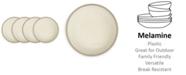 Q Squared Potter Stone Melaboo 4-Pc. Salad Plate Set