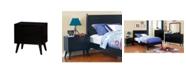 Furniture of America Adelie 2-Drawer Nightstand