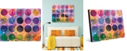 """Creative Gallery Bright Palette Abstract 24"""" x 36"""" Acrylic Wall Art Print"""